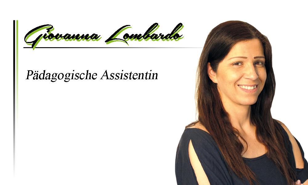 Giovanna Lombardo | Pädagogische Assistentin