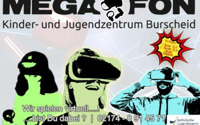 Wir spielen virtuell…!   Bist DU dabei…?