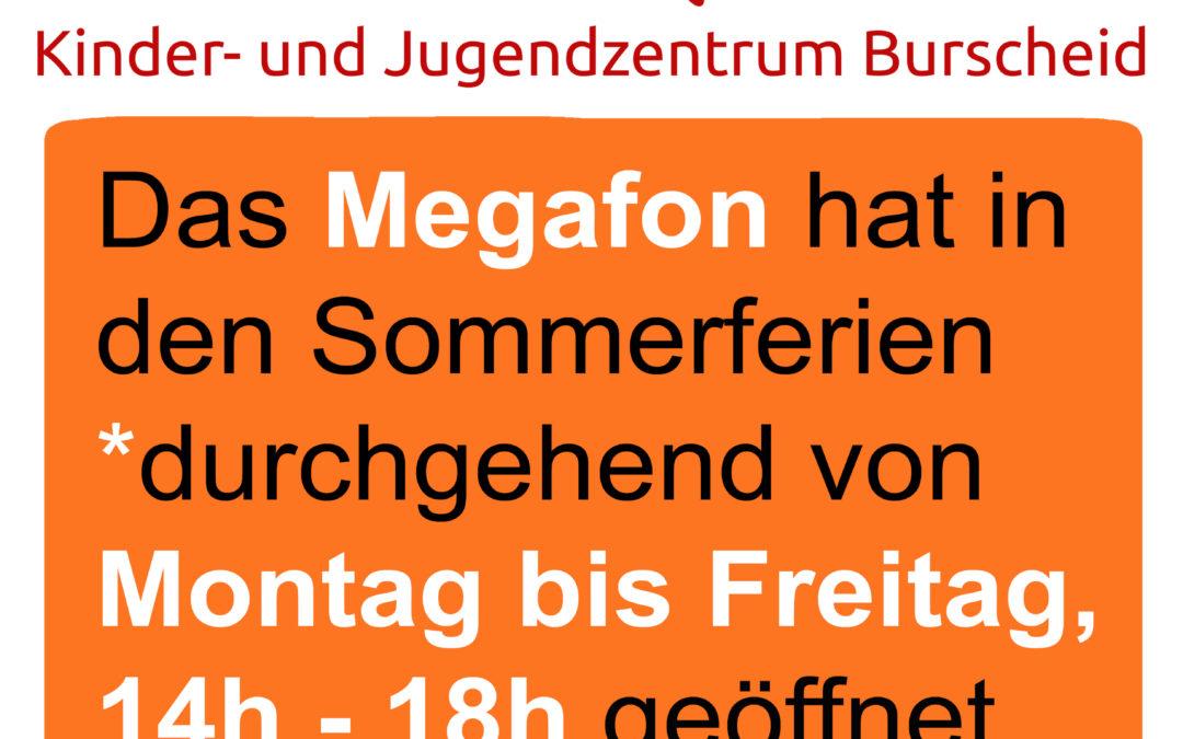 Sommerferien im Megafon