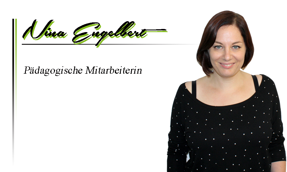 Nina Engelbert | Pädagogische Mitarbeiterin