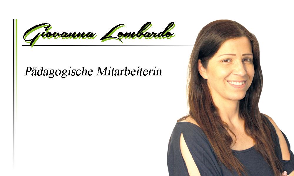 Giovanna Lombardo | Pädagogische Mitarbeiterin